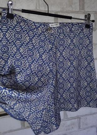 River island юбка шорты легенькие р 8