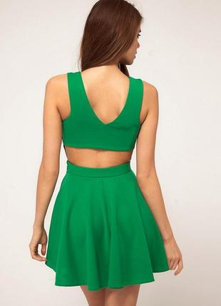 Зеленое трендовое платье от asos