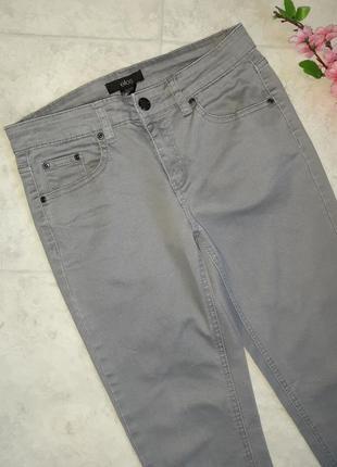 1+1=3 фирменные кофейно-серые узкие джинсы скинни ellos, размер 44 - 463 фото