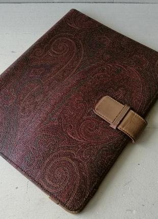 Etro кожаный чехол для планшета, документов