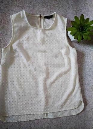 Блузка без рукава майка new look текстурная