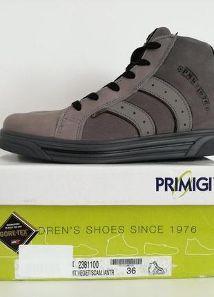 Primigi - кожаные утепленные ботинки с gore-tex