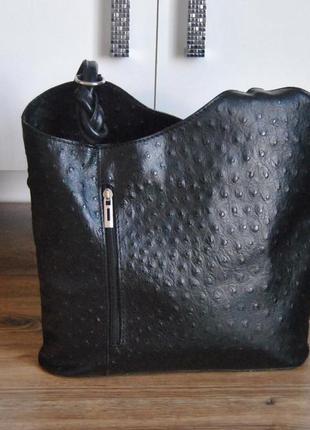 Кожаный рюкзак кожаная сумка borse in pelle / шкіряна сумка рюкзак