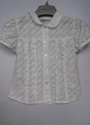 Легкая блуза mayoral, р. 116