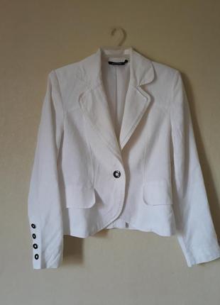 Летний пиджак из 100 льна promiss