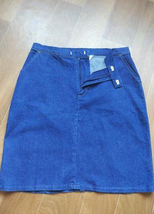 Трендовая джинсовая юбка dorothy perkins