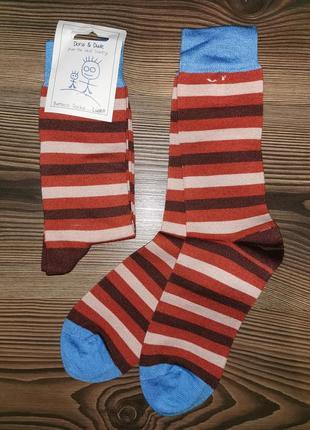 Качественные носки с англии doris&dude. рр 36-40 бабмук и органический хлопок