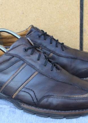 Туфли salamander кожа германия 43р кроссовки ботинки