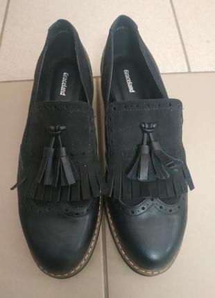 Классные туфли оксфорды от graceland