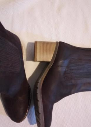Новые кожаные полуботинки размер uk 5 наш 38