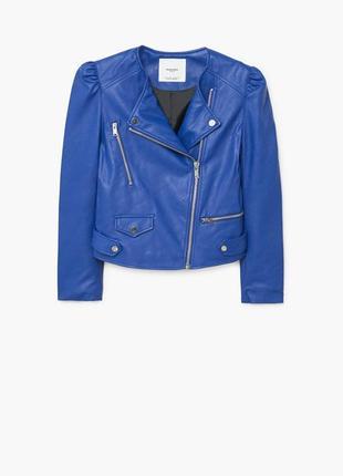 Куртка,косуха из искусственной кожи mango