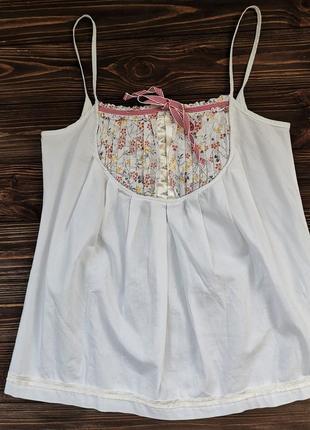 Оригинальная блузка-майка d&g