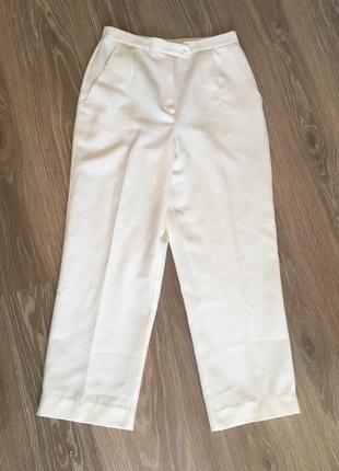 Винтажные белые брюки