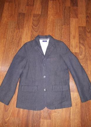 Школьный пиджак chicco 122 и 116