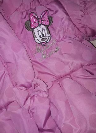 Куртка курточка на флисе disney микки маус