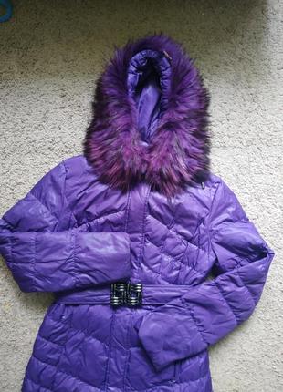 Плащ пальто куртка пуховик натуральный зимний