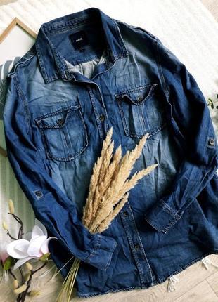 Трендовая джинсовая рубашка next
