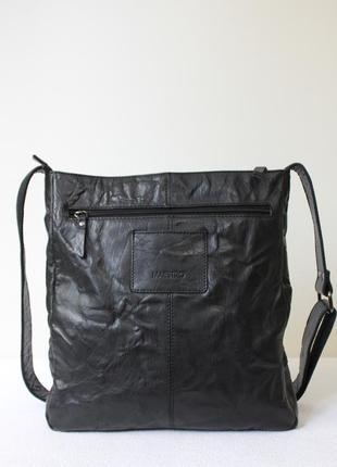 Кожаная сумка maestro мужская,женская (unisex).