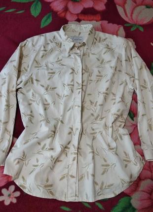 Плотная котоновая рубашка