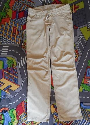 Очень крутые льняные брюки
