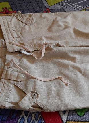 Очень крутые льняные брюки2 фото