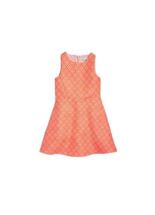 Шикарное жаккардовое платье lindex на 6-7 лет / 122 см