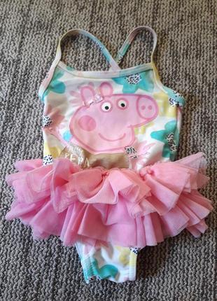 Купальник на девочку свинка пеппа