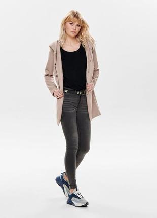 Пальто only в размере xs-s-m в двух цветах