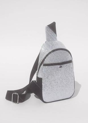 Сумка с поясом поясная сумка bershka со стразами