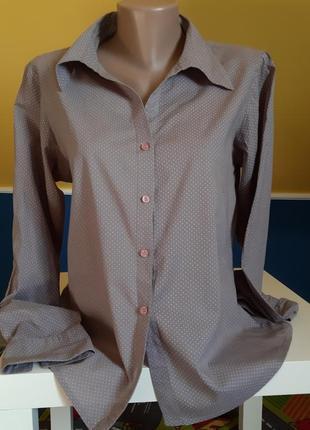 Рубашка/ блуза в горошек италия