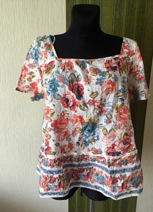 Лёгкая котоновая блузка