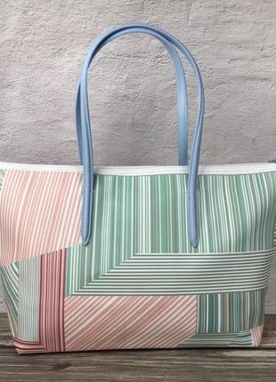 Женская сумка lacoste зебра2 фото