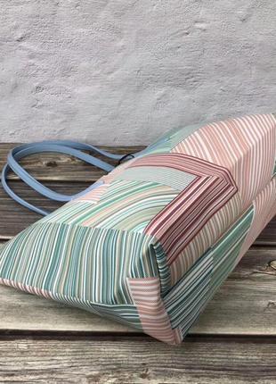 Женская сумка lacoste зебра3 фото