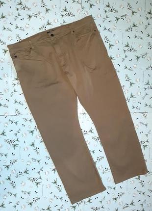 Бесплатная доставка!фирменные прямые повседневные брюки хаки marks&spencer, размер 52 - 54