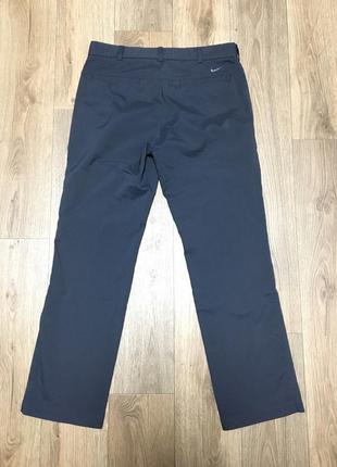 Nike golf pants grey штаны оригинал гольф брюки7 фото