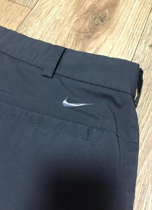 Nike golf pants grey штаны оригинал гольф брюки10 фото