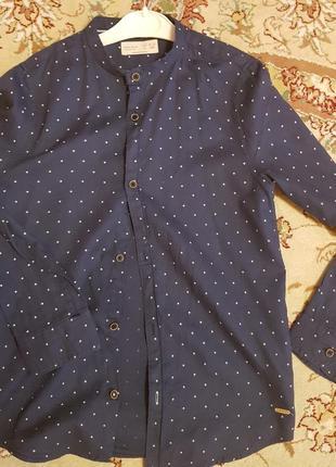 Рубашка для хлопчика розмір zara розмір 140