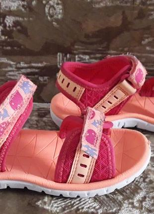 Босоножки сандалии clarks 9.5f, 27.5 р
