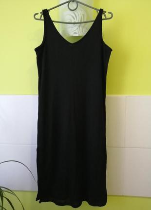 Красивое миди платье майка от mango