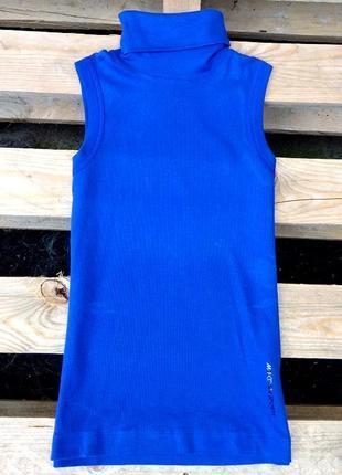 Стильный   топ синего цвета marc cain