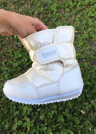 Зимние сапоги-дутики для малышей tom.m,размер 24