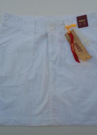 Крутая белая юбка, размер 10
