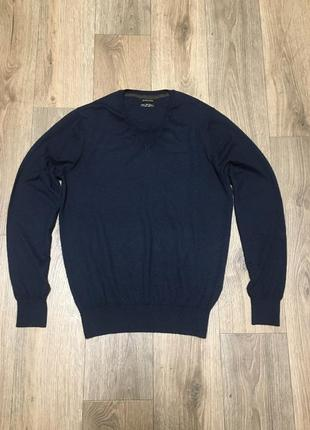 Massimo dutti cotton silk cashmere кофта свитер джемпер оригинал шёлк кашемир
