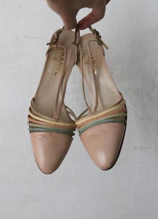Босоножки туфли chanel оригинал