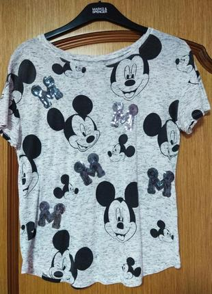 Стильная футболка mikki размер s-м