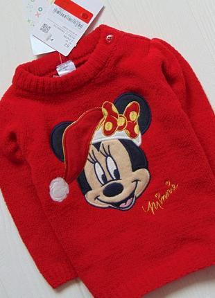 C&a. размер 2-3 месяца. новый яркий свитерок для маленькой принцессы