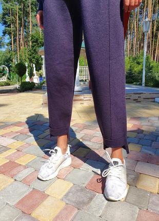 Женский прогулочный костюм сливового цвета lara (италия) размер s-m4 фото