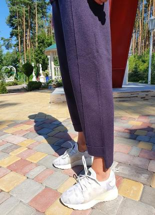 Женский прогулочный костюм сливового цвета lara (италия) размер s-m5 фото