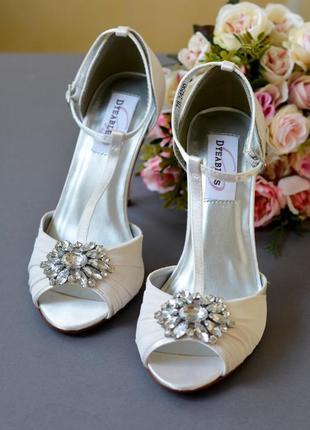 Свадебные туфли весільні туфлі обувь невеста dyeables touch ups