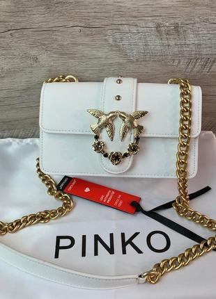 Женская кожаная сумка pinko пинко